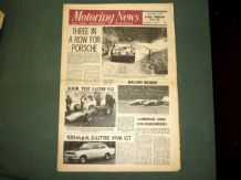 MOTORING NEWS 1968 March 14 Longford Tasman,SanRemo Rally, V12 BRM,Viva GT